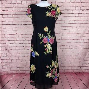 Talbots 100% Silk Dress Size 12 Petite